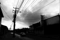 Huildad (Balinera) Tags: patagonia luz ciudad cables bandera punta arenas magallanes