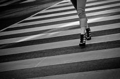 (Wil Lau) Tags: bw crosswalk nikkorafsdx18105mmf3556edvr nikond90bw shoesnikond90bw