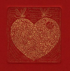- 001 (tim.spb) Tags: original etching heart postcard small valentine ornament plates proverbs desigh    aquafortis