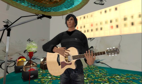 maximillion kleene concert in second life