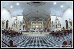 Day 108/365 (choui168) Tags: church fisheye 5d samar 15mmf28fisheye project365 cebusugbo igroup manfrottotripod cebuphotoorg calbayongcathedral calabayogcity