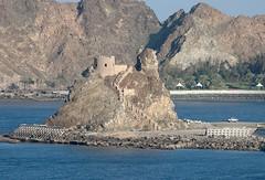 Muscat, Mutrah, Oman (Gerry Hill) Tags: cruise port landscape harbor persian gulf harbour uae coastal oman muscat seas brilliance mutrah