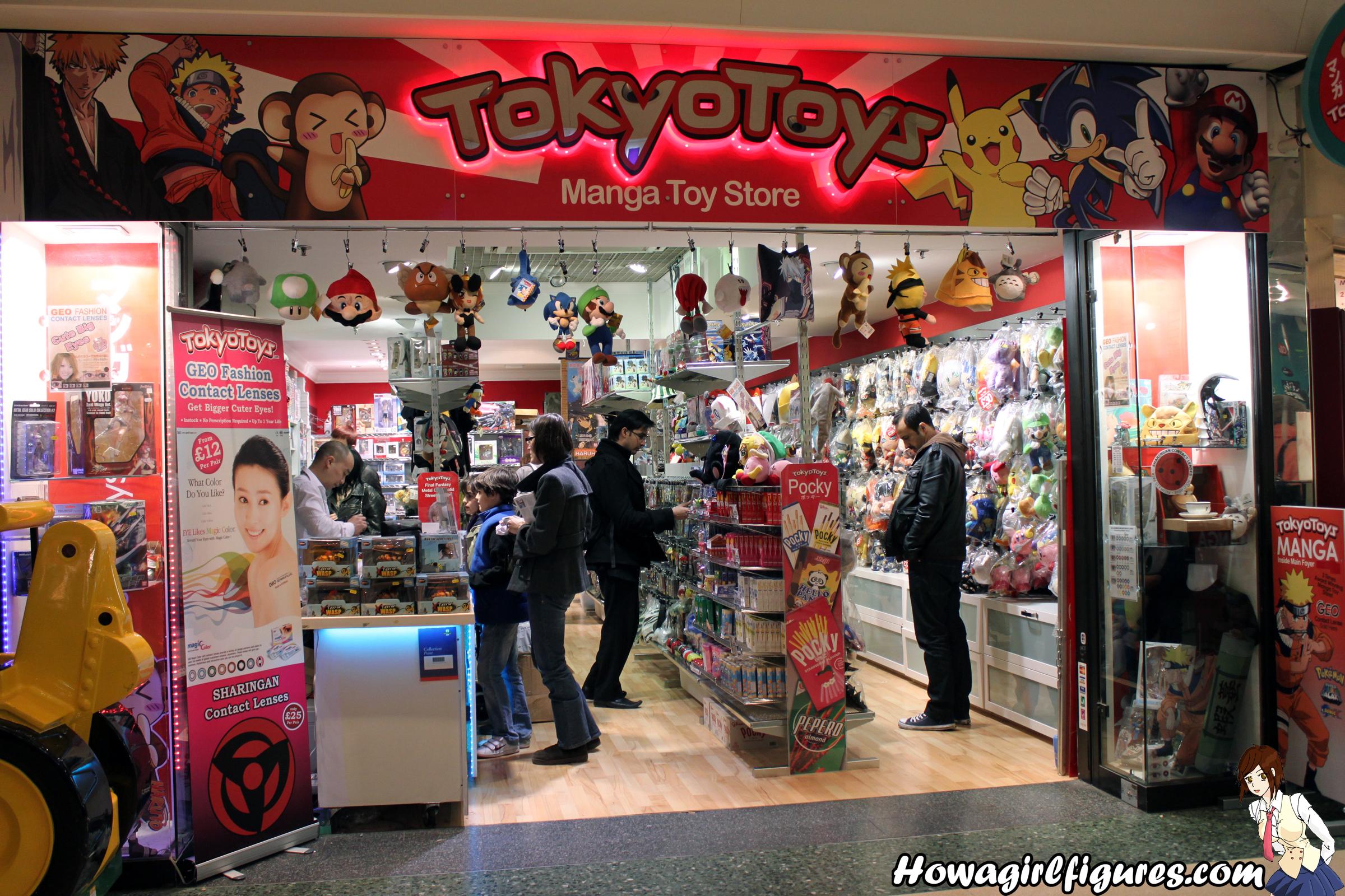 Tokyo Anime Stores