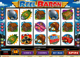 Reel Baron slot game online review