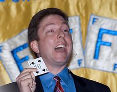 Joe Turner (Saomik) Tags: 2011 april batavia newyork usa magic ffff fechters magician