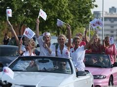 (Radio Svaboda (svaboda.org)) Tags: blondes parade belarus minsk минск беларусь менск парад мінск блондинки бляндынкі