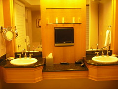 His & Hers sinks at Mandalay Bay