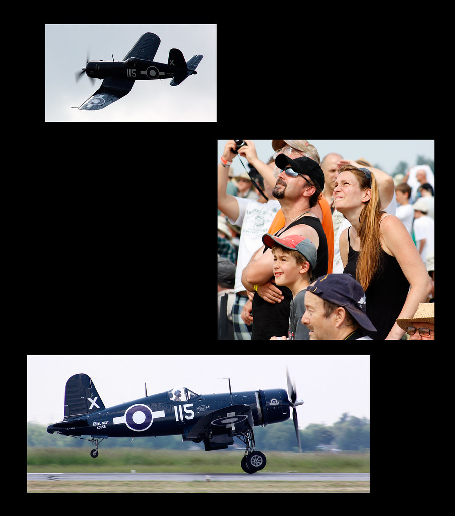 HAMILTON AIR SHOW 2011: The Family and the F-4U GRAY GHOST
