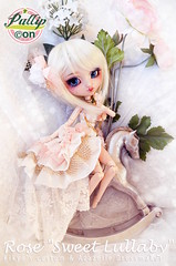 "[Pullipcon] Rose ""Sweet Lullaby""  (by Kiky & Azazelle) (Kiky) Tags: doll pullip custom kikyo azazelle sweet rose lullaby white horse pullipcon france poupe cute divers art"