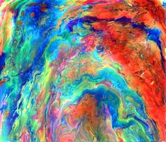 Fluid geometry III (alexis neault art) Tags: abstract art flow fluid fluidity movement artist painting prints populars paint acrylics original organic flickr instagram alexis neault colors couleurs sunset landscape vibrant painter