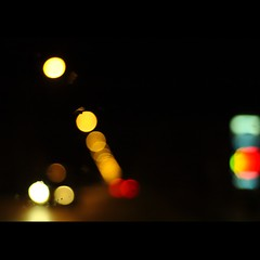 Lonely Nights (remography) Tags: auto blue light red black color green rot car night 50mm lights licht photo nikon foto nacht d70s utata grn blau nikkor farbe schwarz lichter twtme