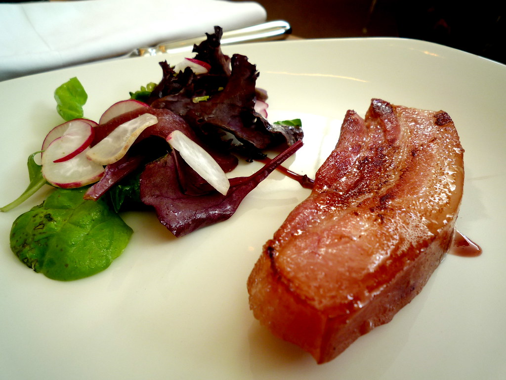 House smoked pork belly