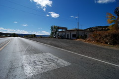 Route 66 in Budville, New Mexico