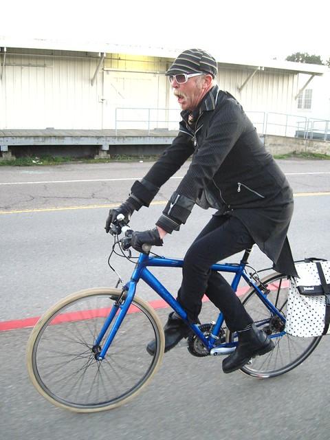 Bike pretzel.