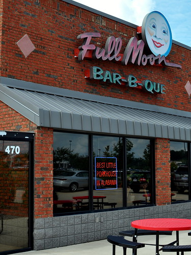 FULL MOON BAR-B-QUE FACADE