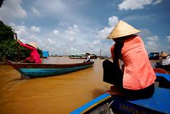 đi chơi thuyền trên sông (SHUTTR.) Tags: river boat delta vietnam mekong indochina