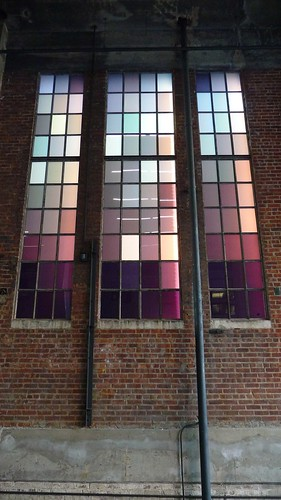 Colored glass windows