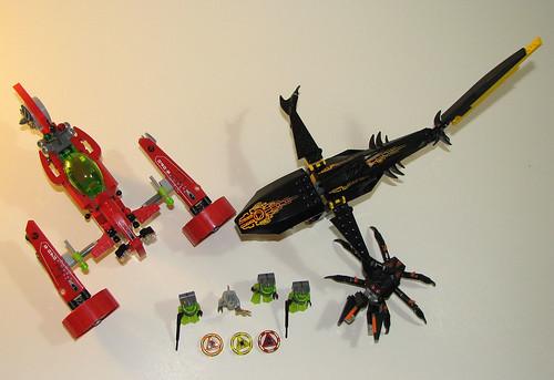 LEGO Atlantis - 8060 8058 8056 - Overhead