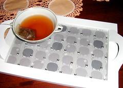 bandeja vaquinha (Tamandu-Bandeira Ateli) Tags: mdf tecido vaquinha bandeja