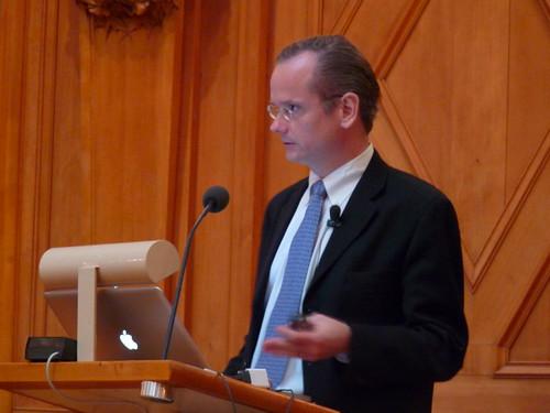 Lessig @ Swedish Parliament Nov 18, 2009