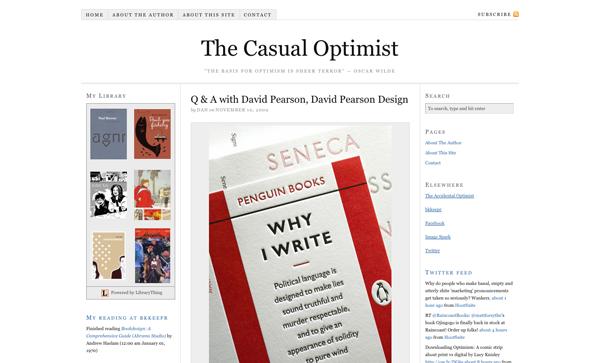 Q & A with David Pearson, David Pearson Design | The Casual Optimist_1258669396595