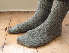 Tweed fancy socks (Cawalki) Tags: men socks bush knitting fancy mens gentleman tweed handknitted vintagesocks