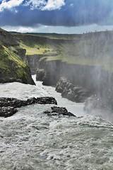 (Ute Bolmer) Tags: green water grass island waterfall iceland wasser wasserfall gras geyser grn geysir