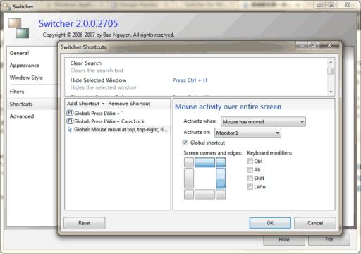 Switcher - Aero 效果的窗口切换工具 2