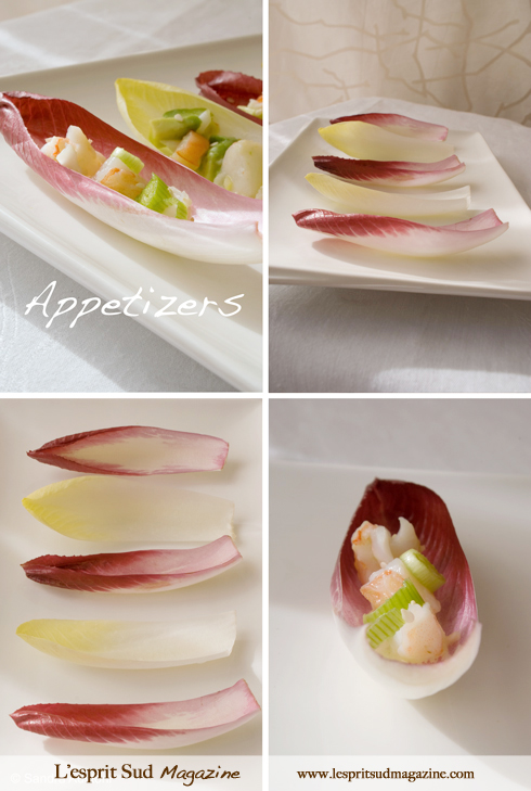 Endive leaves - Appetizers
