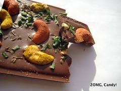 cashews and chocolate