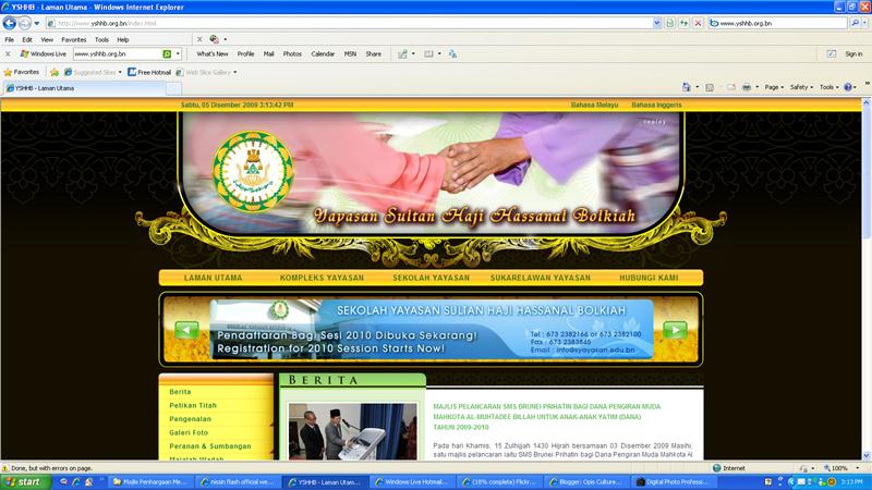 website YSHHB