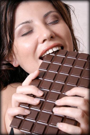 çikolata yemek