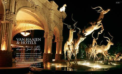Sharks & Hotels for Tulp Magazine, pages 1&2