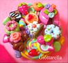 dolce portagioie (giottarella) Tags: cute box handmade charm fimo clay kawaii earrings scatola fraise dollhouse fragola claycharm