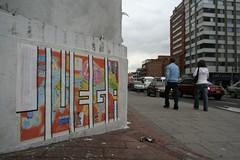 Juega Siempre (Juegasiempre) Tags: colombia bogotá cartel arteurbano djlu juegasiempre