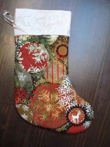 Iris stocking 1