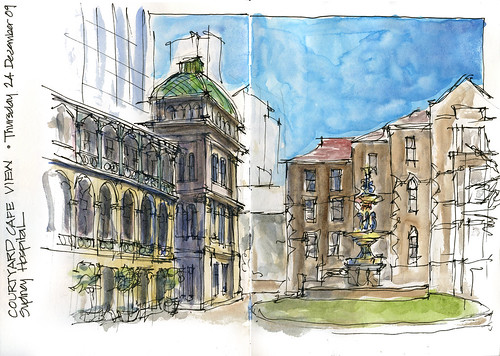 091224 Sketching in Town 2