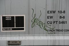 Jason (Rainier Beer 12oz) Tags: railroad urban art train graffiti paint track traintracks spray spraypaint graff traintrack freight freighttrain trainart graffi benched benching