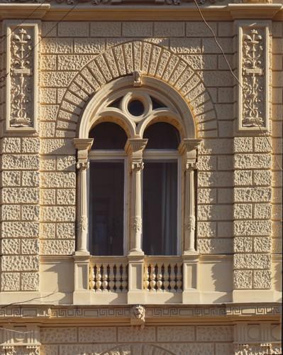 Window  Shlosberg's mansion