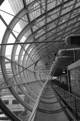 Geometries in a airport 01 (Sergio Vaiani) Tags: abstract paris architecture composition blackwhite geometry forms airports astratto architettura bianconero forme abstractions abstractarchitecture geometrie linesandcurves aeroporti astrazioni waitingforbording atomicaward sergiovaiani