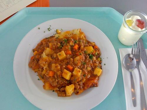 Hackfleisch-Kartoffel-Auflauf / ground meat - potato casserole