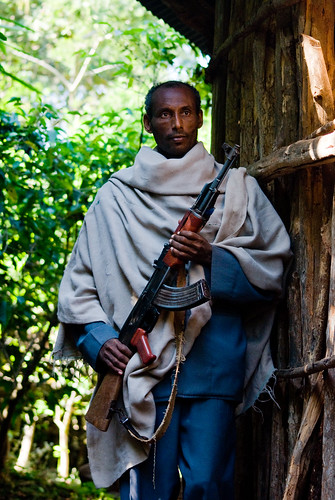 Ethiopia - The man who guards the centuries-old treasures of the Bahir Dar monasteries