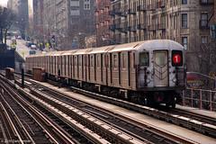 R62A 1 Train (bigdan034) Tags: street nyc newyorkcity train d50 subway 1 nikon harlem broadway el line uptown mta seventh avenue irt 125 18135 r62a