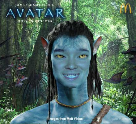 Thumb McDonald's Avatarize Yourself: Make an Avatar's Na'vi with your photo