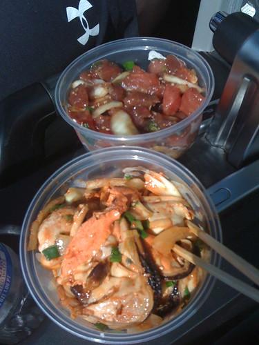 Fast Food: Poke & Mussels