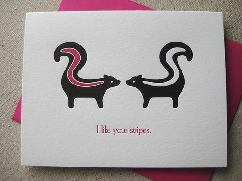 Valentines skunks 1