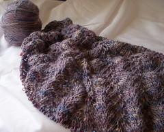 Sunbird (theHyperMonkey) Tags: lace sunbird shawls steelwoolmerinosilk