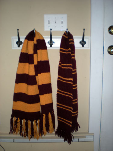 pair of scarves