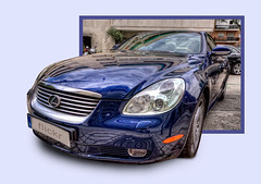 Lexus SC 430 HDR (marcp_dmoz) Tags: madrid auto blue espaa sc car azul photoshop canon reflections cutout out eos 3d spain map cut sigma coche blau 1020mm 1020 coupe tone hdr spanien reflejos lexus 430 wagen automobil spiegelungen pkw sc430 photomatix 50d tonemapped tonemapping