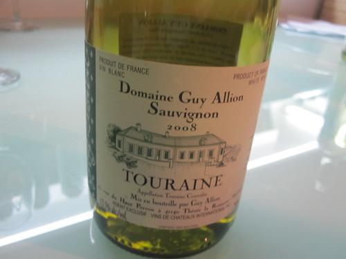 Domaine Guy Allion Sauvignon Touraine 2008
